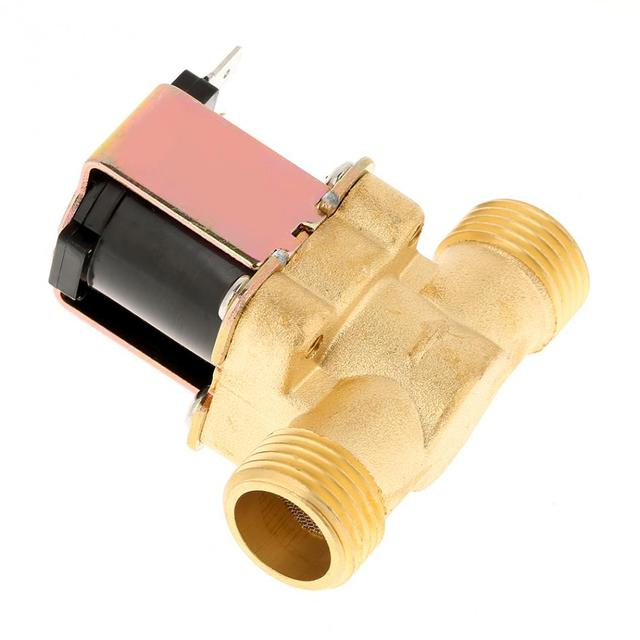 "Solenoid Valve 1/2"" DC 12V Normally Closed Brass Electric Solenoid Valve For Water Control hot"