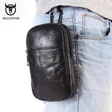 dc892533ad088 Erkekler moda bel paketleri marka tasarım hakiki deri telefon bel kılıfı  fanny paketi için erkek kalça Bum bel çantası İpi cep ç.