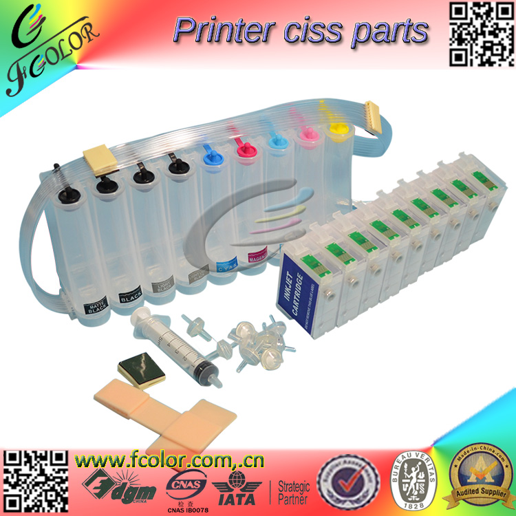 Free Shipping 2016 New Bulk CIS P600 CISS for P600 Printer T7601-9 ink System for Reseller cis empty ciss for epson 900 1270 1280 1290 printer