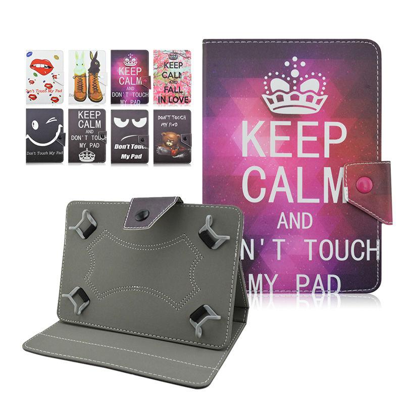 For Prestigio MultiPad PMP810TE 3G 10.1 inch fundas tablet universal 10 universales pu Leather case cover+Center Film+pen KF492A