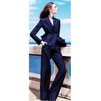 New Style Ladies Suit Fashion Temperament Slim Office Women's Party Set Womens Business Suit Two-piece