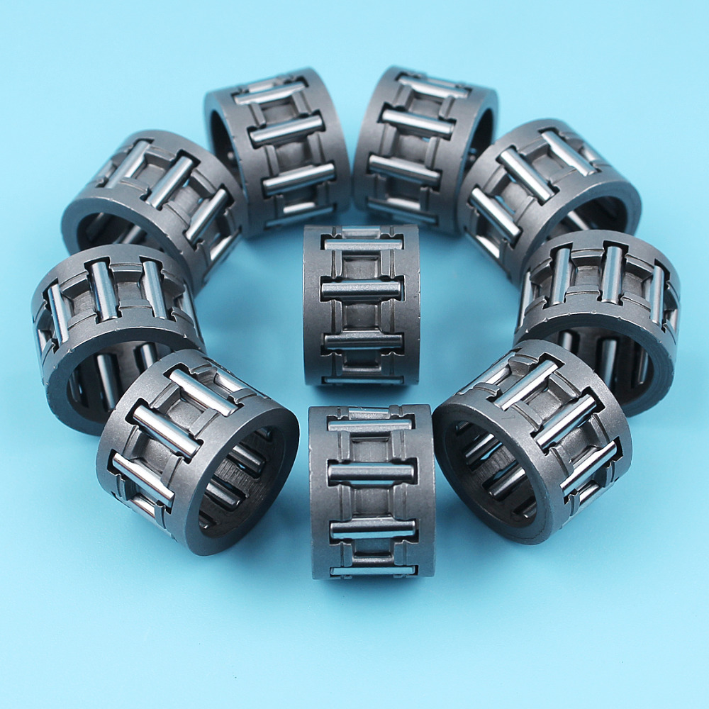10Pcs/lot Piston Needle Bearing Cage For Partner 350 351 370 371 390 420 Chainsaw