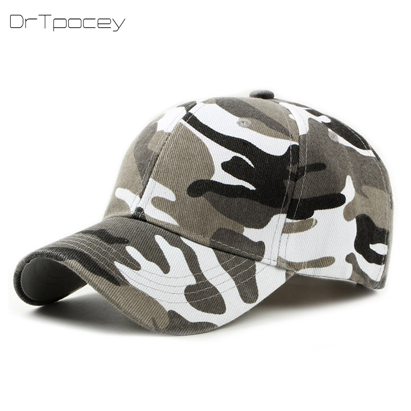 Casquette Camouflage Dad Cap Hats For Men Women Cotton Camo Baseball Cap Outdoor Climbing Hunting Camo Snapback Hats 2018 New