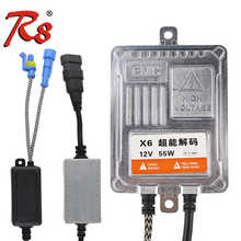 X6 Автомобильный Премиум Canbus HID Xenon комплект балласты зажигания драйвер для ламп H7 H4 55 W 12 V Запасные части замена без ошибок