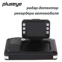 2 в 1 Multi-Функция Автомобильный видеорегистратор радар-детектор hd 1080 P Угол обзора 120 градусов английский и русский Детектор автомобиля видео регистратор