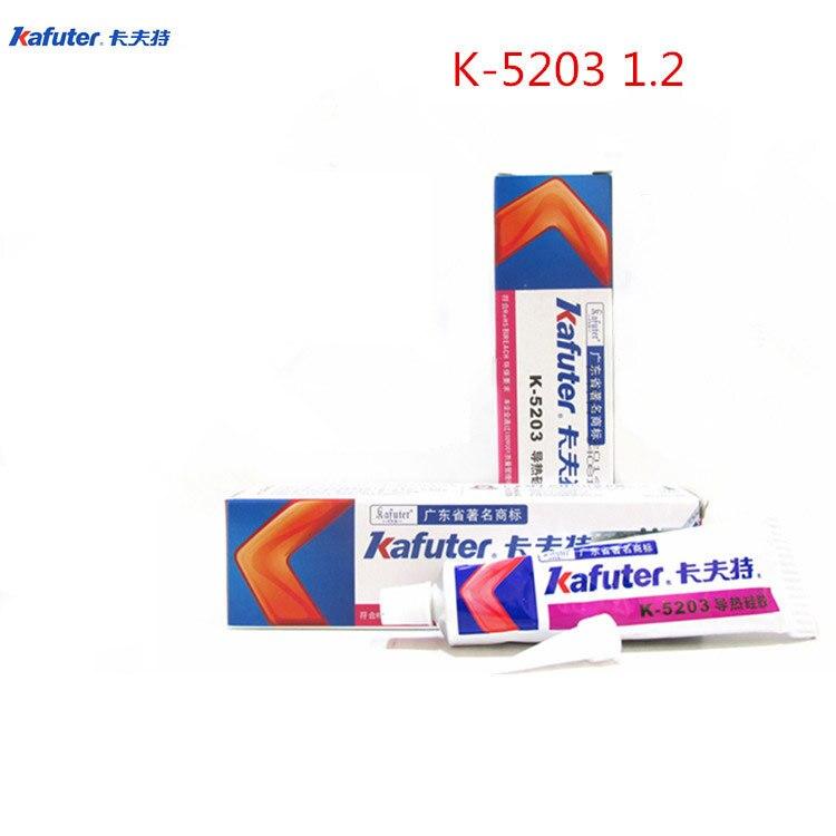 FSP new2pièces 80g Kafuter dissipateur de chaleur | CPU pâte à graisse de silicium thermoconductrice, colle adhésive Gel de caoutchouc de silicium