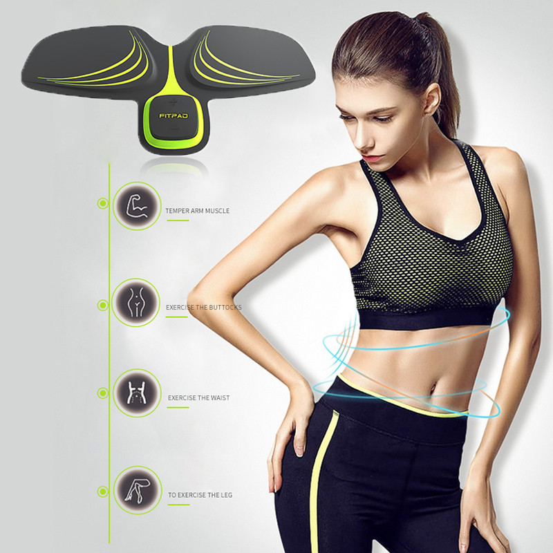 EMS Arm Abdominal Muscle Trainer Gear Device Muscle Stimulator Body Arm Massager Electric Weight Loss Home Gym Equipment id card 125khz rfid reader