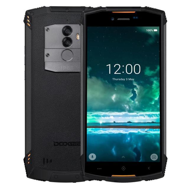 DOOGEE S55 Rugged Smartphone IP68 Waterproof Dustproof 5.5 Inch 4GB RAM 64GB ROM 5500mAh Battery Mobile Phone