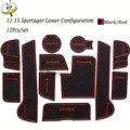 Аксессуары для левого привода  резиновая Автомобильная светящаяся противоскользящая подстаканница для KIA Sportager Sportage R 2011-2015