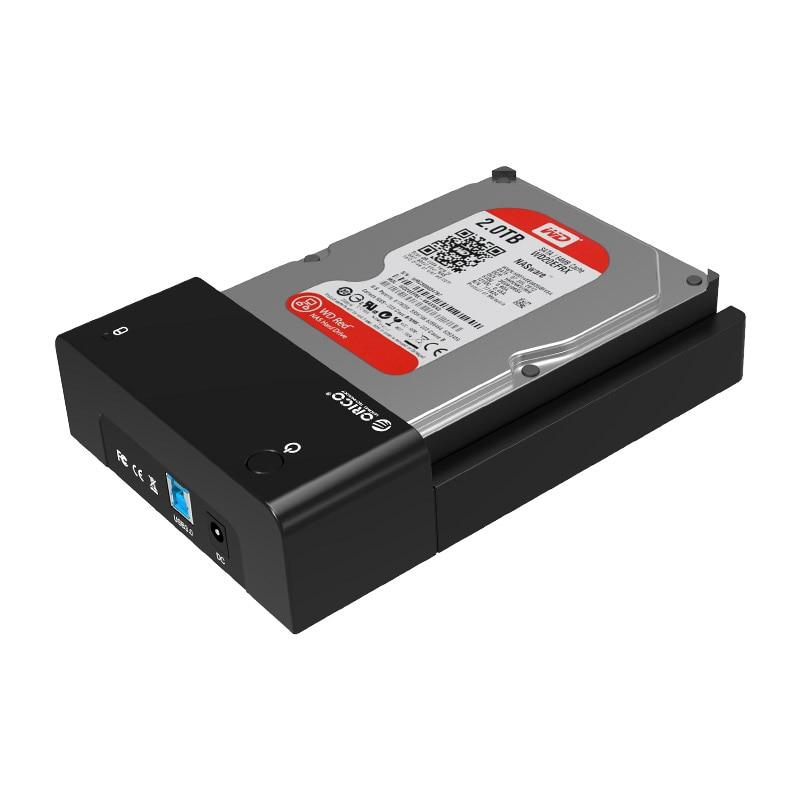 ORICO 6518SUS3 2.5 inch / 3.5 inch hard drive case USB3.0 hard drive base Universal mobile hard disk box