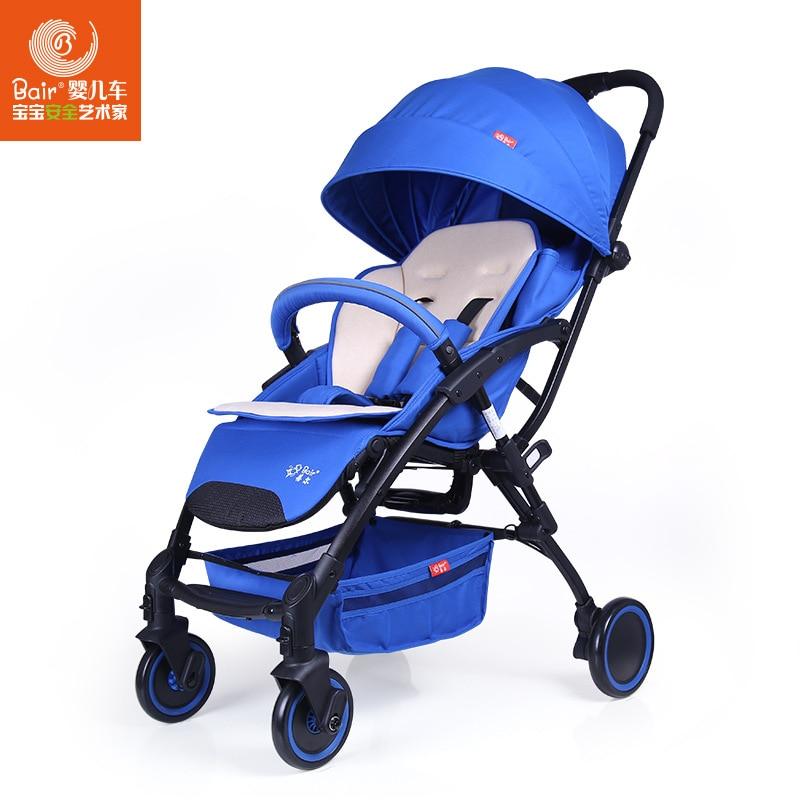 где купить Fashion Folding Baby Stroller Stroller Baby Portable Can Sit & Lie Down Children Umbrella Car Pushchair Pram (6 Free Gifts) по лучшей цене