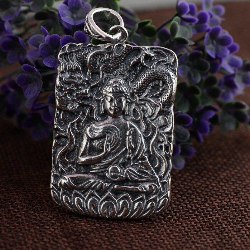 Cerf roi bijoux zodiaque natal bouddha pendentif cadeau en gros Amitabha explosion