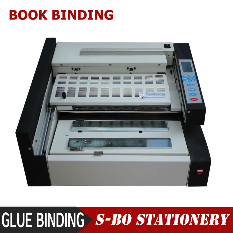 Glue Binding Machine Book Binding Machine Leather Book