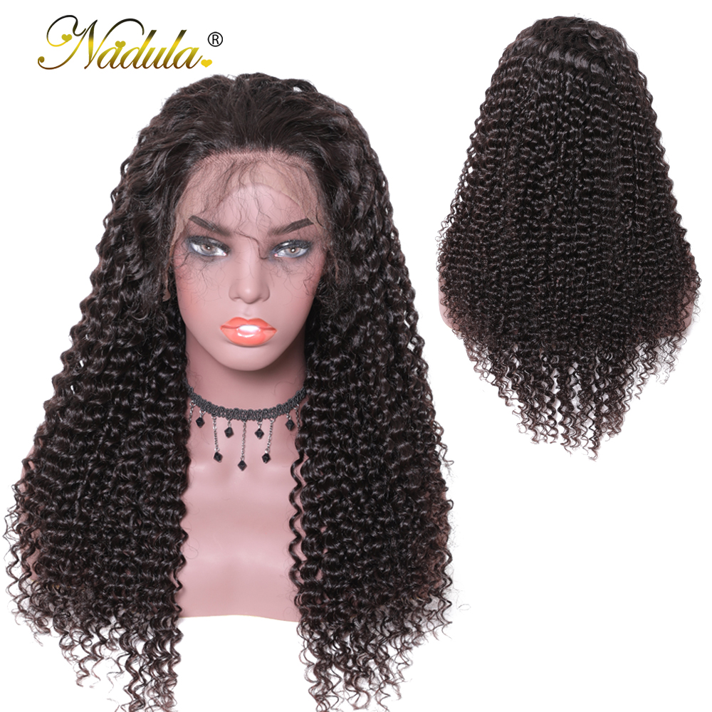 Nadula Curly Hair Wigs For Black Women 13*4 Lace Front Human Hair Wigs Brazilian Virgin Hair Lace Front Wigs Pre Plucked