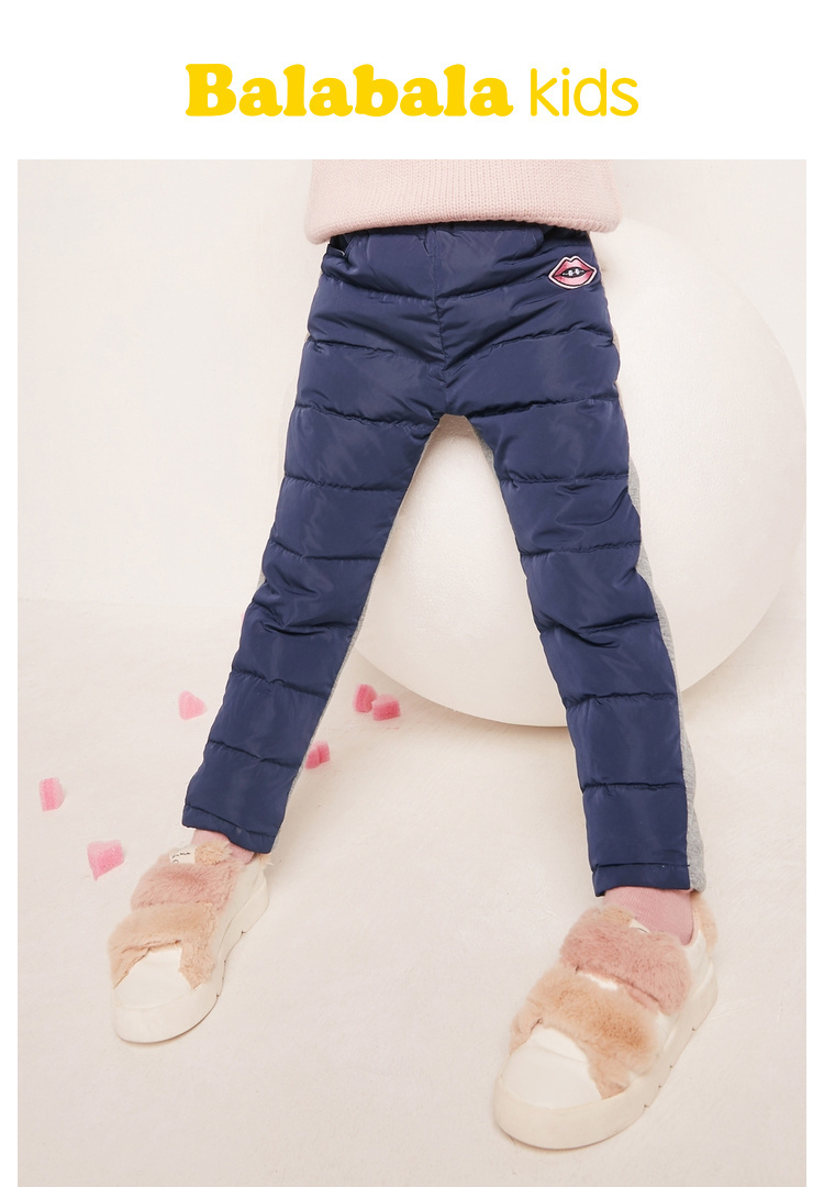 03e19ce2c HOT SALE] Balabala Todder Girl Quilted Puffer Pants Chinon Lined at ...