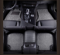 Automotive Floor Mats Leather Rugs Set Foot Pad For Cadillac CTS CT6 SRX DeVille Escalade SLS