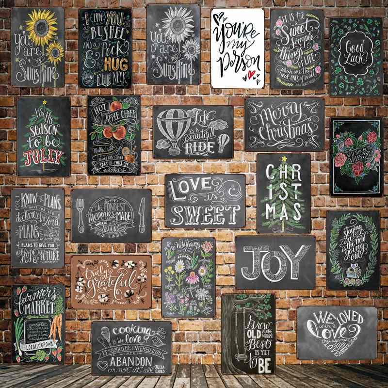 [WellCraft] vous êtes mon soleil amour doux étain signes citation Plaque murale personnalisé fer peinture Antique bar Pub décor LT-1705