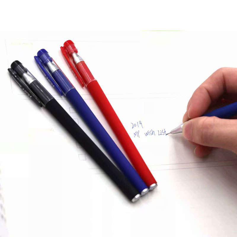 13pcs Lot 0 38mm Office Gel Pen Refill Set Signature Pen Red Blue Black Ink Refill