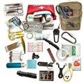 Открытый 21 в 1 набор для выживания набор для кемпинга Многофункциональный SOS EDC первой помощи аварийные поставки Dorp доставка