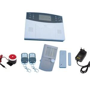 Home Security Alarm System 433MHz Wireless PIR Motion Sensor Door contact LCD Panel GSM Alarm system Indoor Siren(China)