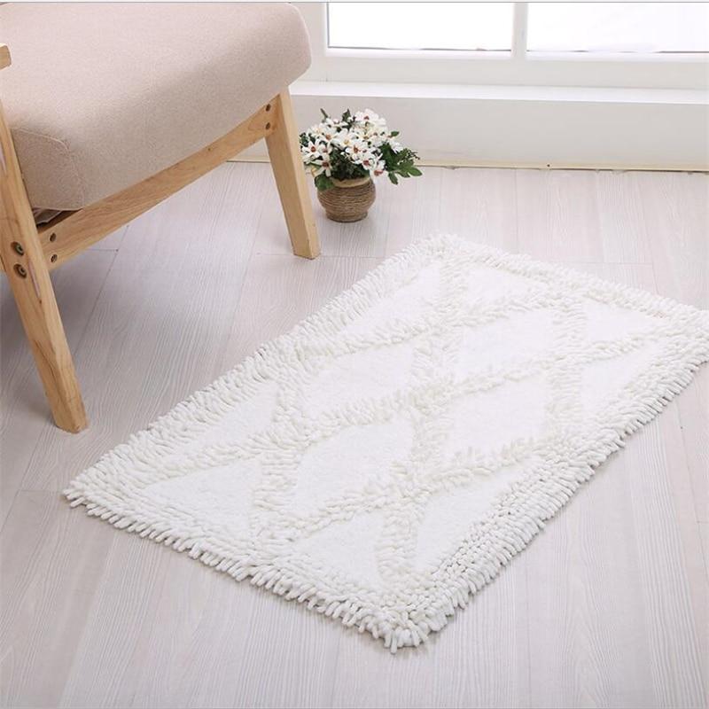 Simple Cotton Soft Hand Woven Design Carpets For Living Room Bedroom Kid Room Rugs Home Carpet Delicate Floor Door Mat Area Rug - 4