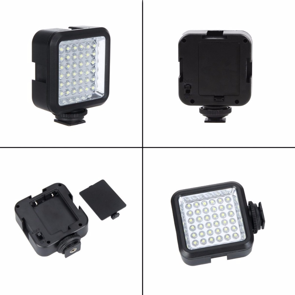 W36-LED-Video-Light-Lamp-DC-3-7V-36-Dimmable-High-Power-Panel-Lamp-on-Camera