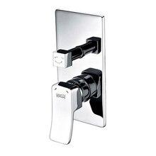 Смеситель для ванны WasserKRAFT Aller 10641 (Керамический картридж 35мм, керамический поворотный переключатель)