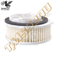 whtie professional accessories moto part motorbike air filter for yamaha Vstar DS400 XVS400 XVS650 motorbike air cleaner system