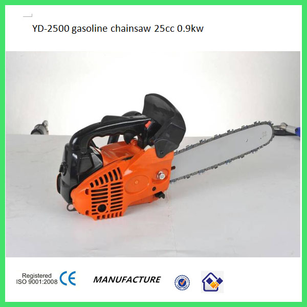 free shipping 12 bar 2500 chain saw chain saw parts 25cc chain saw easy start small