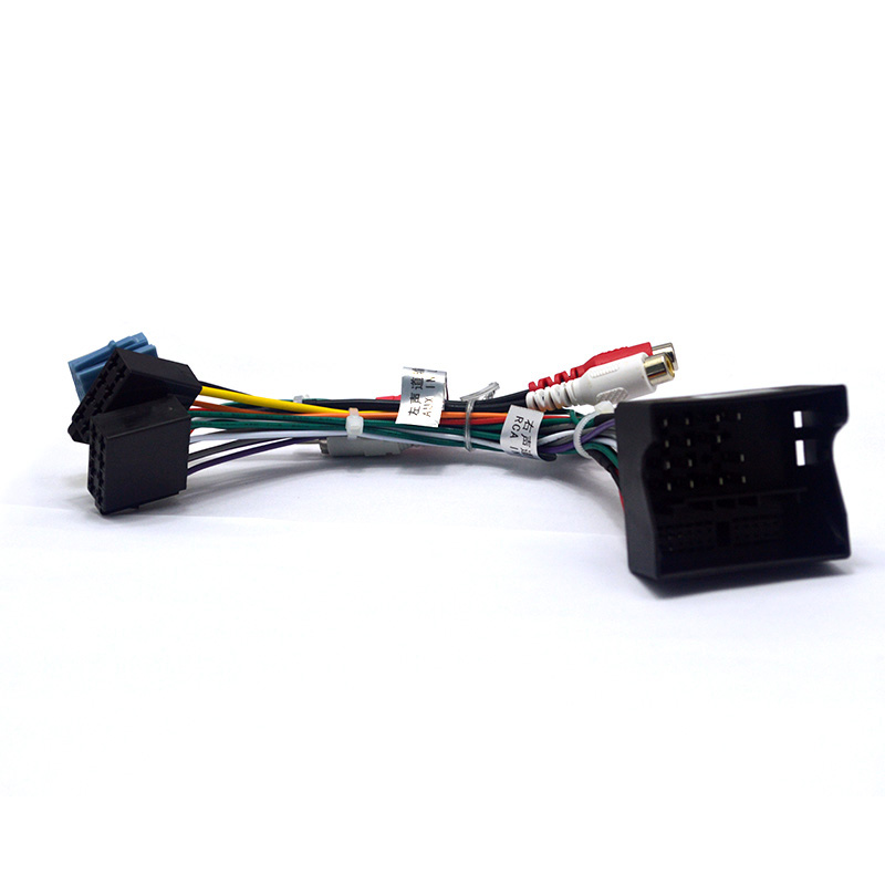 Car Stereo ISO Radio Plug For Volkswagen font b VW b font font b Golf b buy wire harness for boss bv9560v or similar wiring wiring  at crackthecode.co