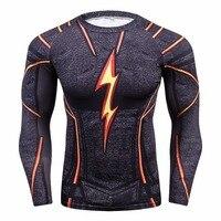Kompression Shirt Männer 3D Gedruckt T shirts Männer Raglan Langarm Cosplay Kostüm Tops Männlich fitness bodybuilding Kleidung|T-Shirts|Herrenbekleidung -