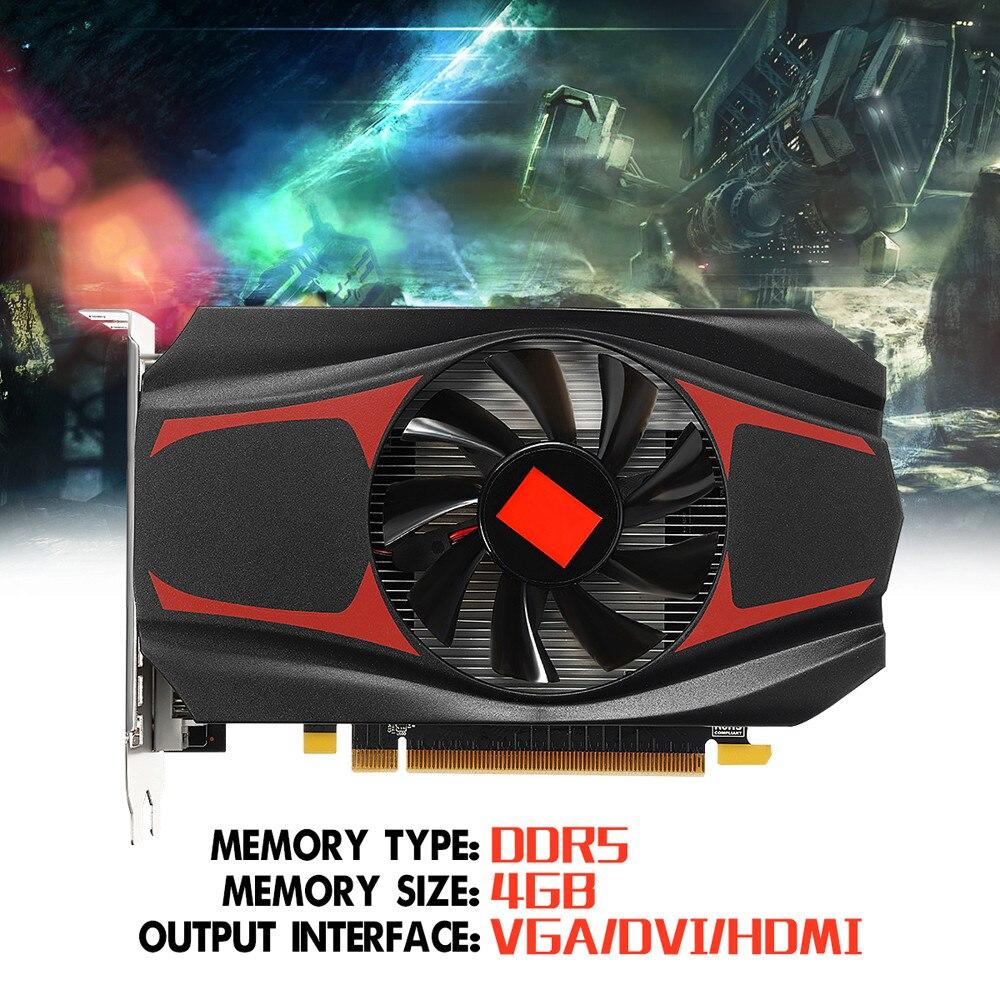 FÜR AMD ATI Radeon HD7670 4 GB GDDR5 128Bit Pci-Express Unabhängige Grafikkarte Apr24