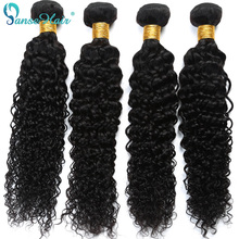 Brazilski kose Kinky Curly Panse Hair 4 Paketi po Lotu Non Remy Ljudska kose Weaving Customized 8 do 30 inča Hair Bundle