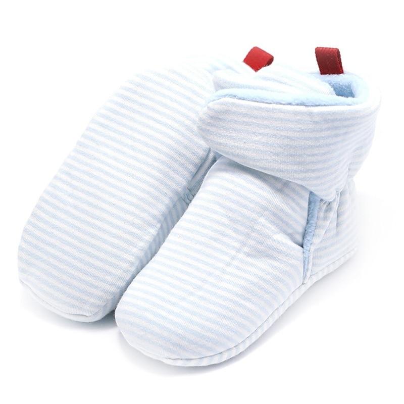 Купить с кэшбэком Unisex-baby Home Walking Boots Kids Newborn Infant Classic Floor Winter Super Warm Slip-On Soft Baby Crib Booties Shoes for Girl