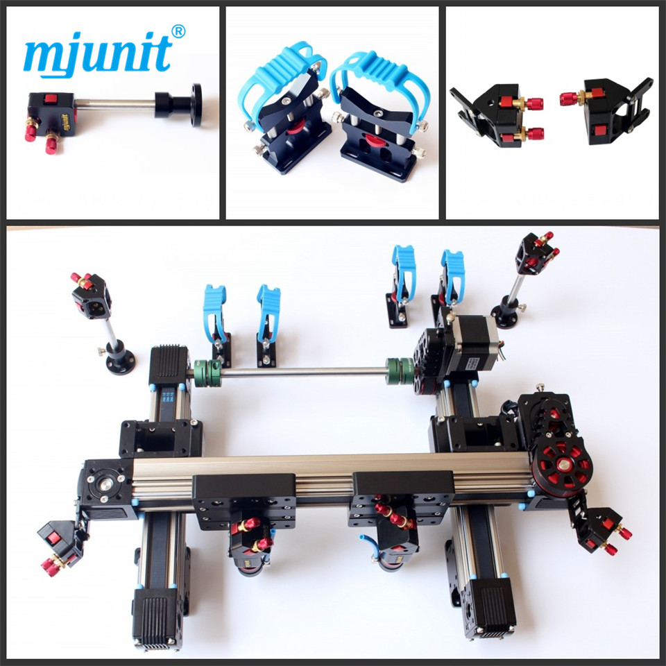 mjunit 1810 special aluminum alloy guide for mechanical parts of laser machine linear guide motion reasonable price guideway rail toothed belt drive for laser machine mechanical parts