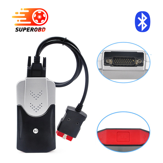 TCS CDP pro plus New vci + LED cables SCANNER for cars / trucks as mvd 2015.R1 Free active /2014.3 with Keygen better elm327