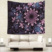 Wall Hanging 3D Prints Mandala Oil Painting Tapestries Geometric Rectangle Rhombus Circle Bedspreads Decor Bed Room Large 150 CM