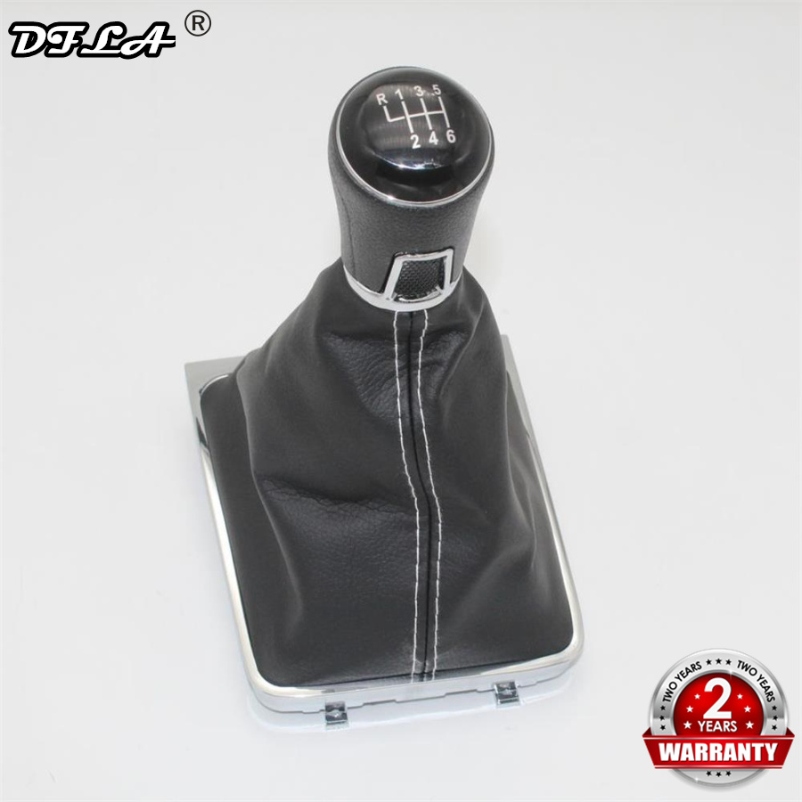 For VW Golf 7 Golf MK7 GTI GTD 2013 2014 2015 2016 2017 2018 Car-Styling 6 Speed Car Stick Gear Shift Knob Leather BootFor VW Golf 7 Golf MK7 GTI GTD 2013 2014 2015 2016 2017 2018 Car-Styling 6 Speed Car Stick Gear Shift Knob Leather Boot