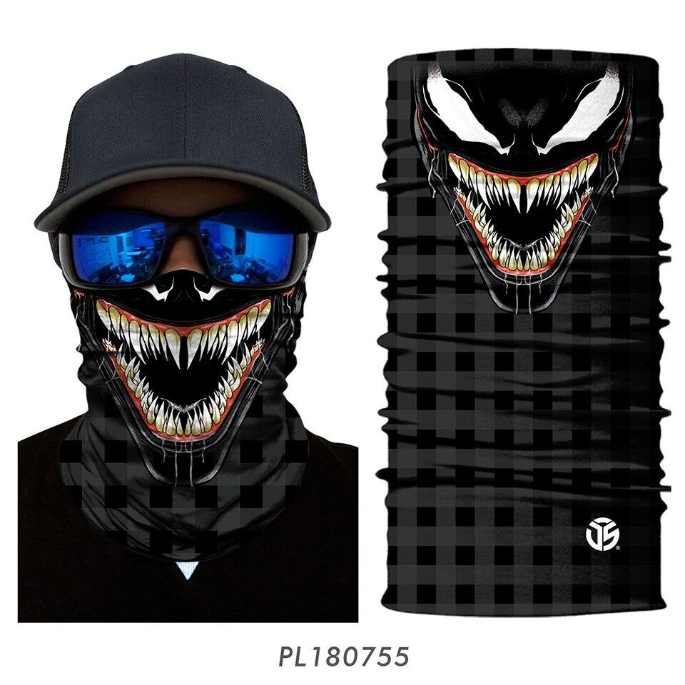 3D Balaclava Venom Motorcycle Mask 23