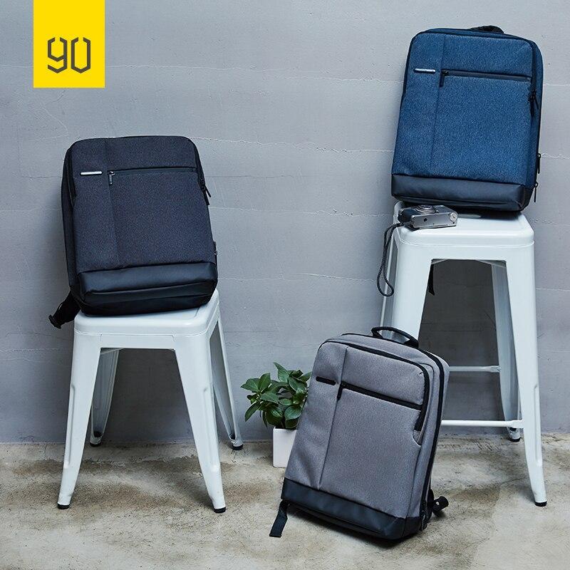 90FUN Classic Business Backpack Big Capacity For 15inch Laptop Bag Daypack School Travel Men Women Boy Girl