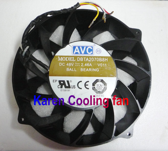 все цены на AVC 20CM DBTA2070B8H 2070 48V 2.46A strong winds of cooling fan 200*70mm THB2048HG онлайн