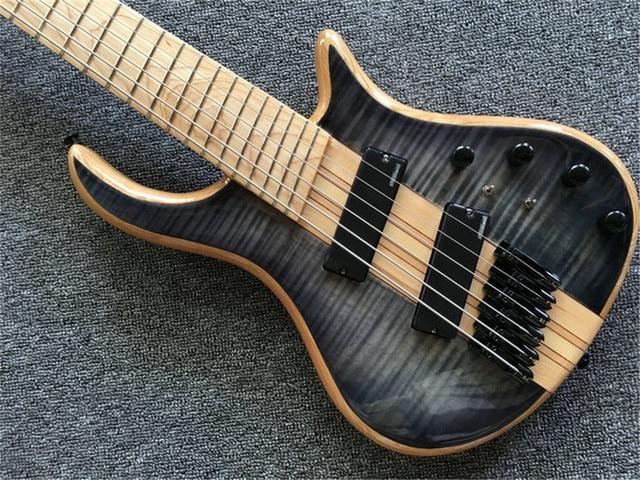 6 - string bass guitar, neck through the body 1