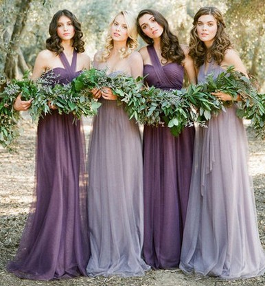 Bridesmaid dresses long bridesmaids dresses in Europe and the bride wedding gown suit performance