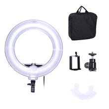 Digicam Photograph Video 13 inches Ring  Fluorescent Flash Mild Lamp for Portrait,Images,Video Capturing