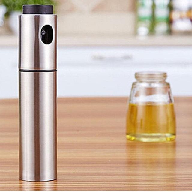 Stainless Steel Oil Spray Bottle