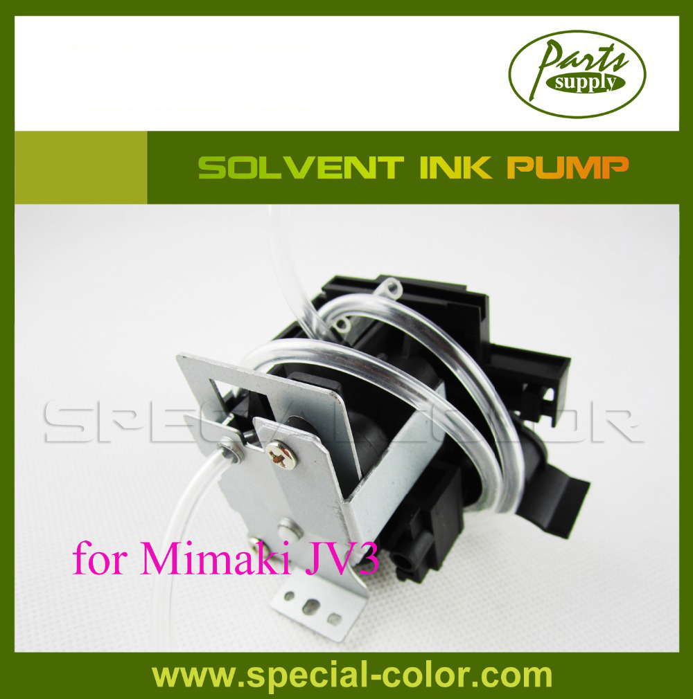 High Quality DX4 Solvent Printhead Printer Eco-Sol Ink Pump for mimaki JV3 printer dendy