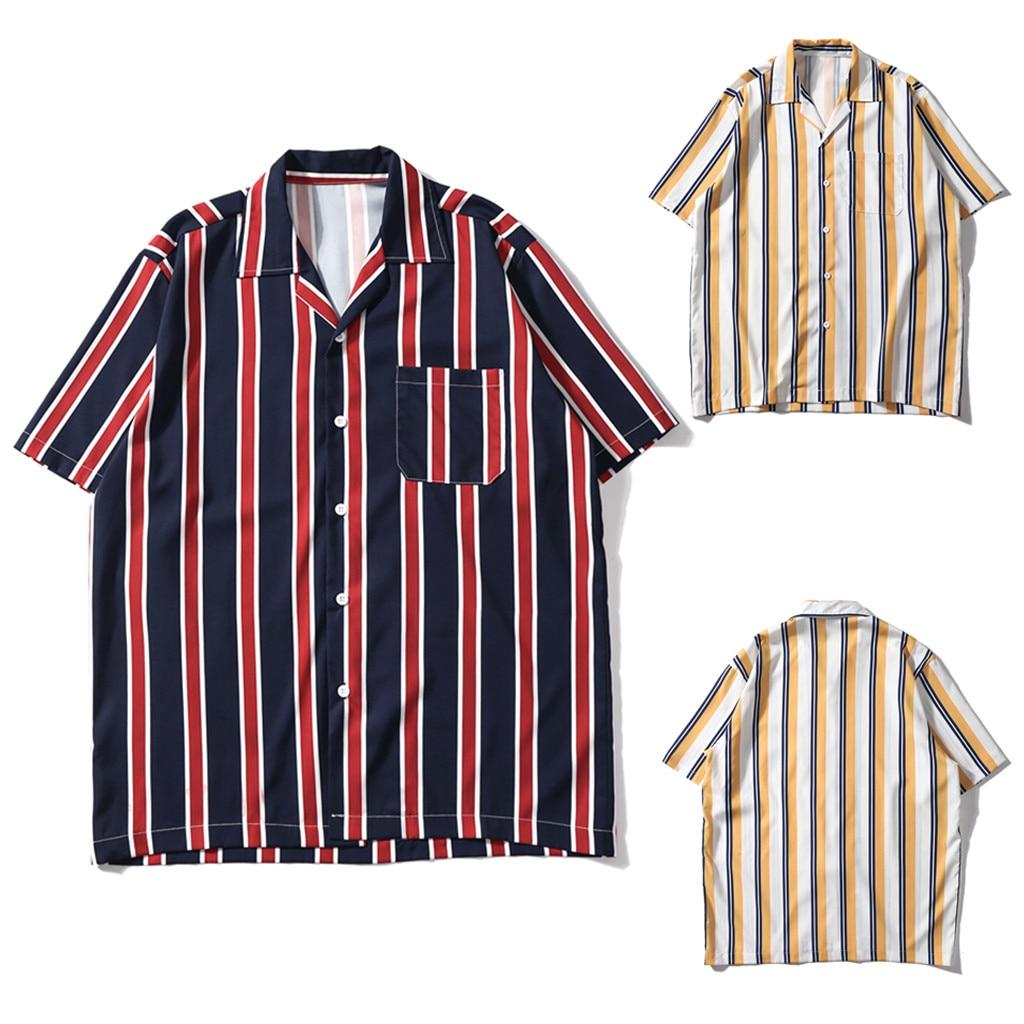 Jaycosin 2019 T Shirt Men Summer Floral Print Floral Short Sleeve Brand Linen Basic T Shirt Blouse Plus Size Tee Shirt Femme Casual Shirts