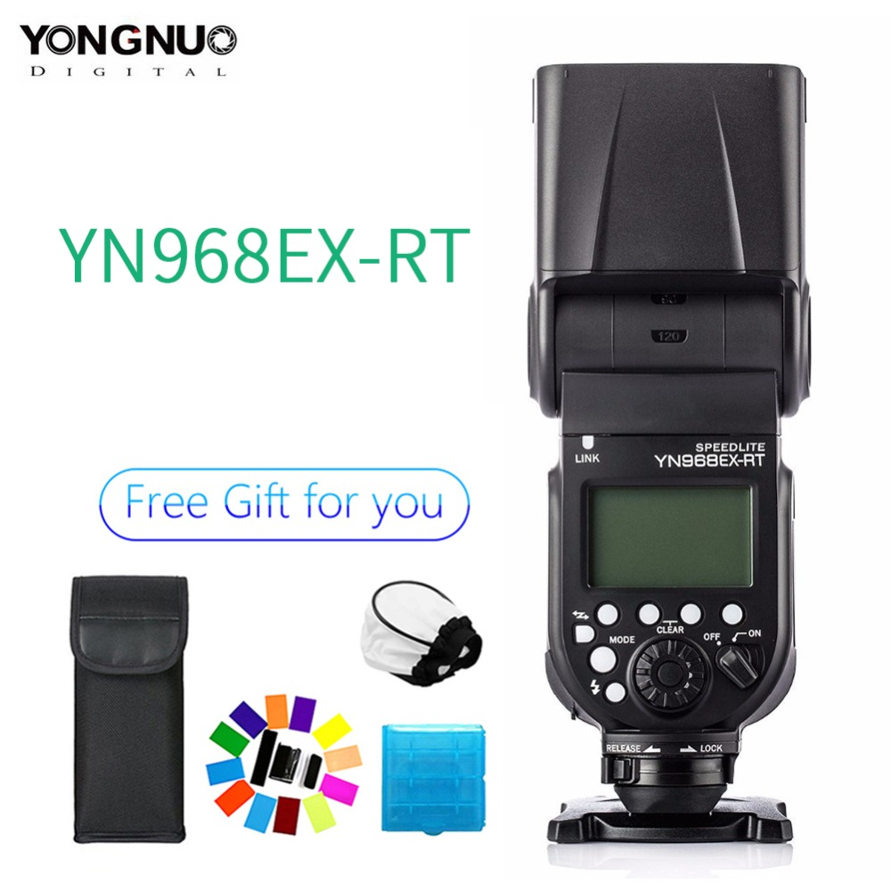 YONGNUO YN968EX RT TTL Flash inalámbrico Speedlite con luz LED Compatible con YN E3 RT  YN600EX RT para Canon 600EX RT  ST E3 RT-in Flashes from Productos electrónicos    1