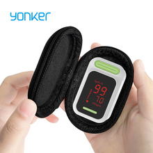 Yonker медицинский Пульсоксиметр портативный Пальчиковый Пульсоксиметр светодиодный оксиметр на палец индикатор насыщения кислородом крови