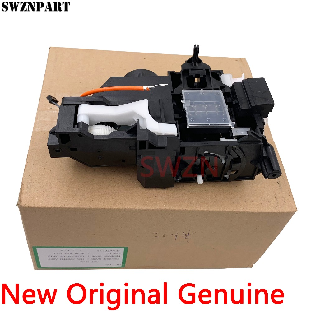 New Original Ink Pump Assembly Capping Station For Epson R1390 R1400 R1410 R1420 R1430 R1500 L1800 Cleaning Unit Assy 1555374-04